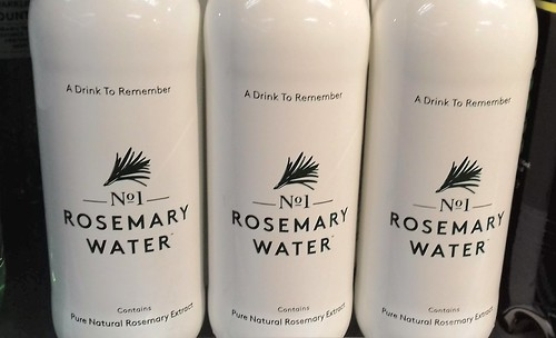 No1 Rosemary Water - a drink to remember