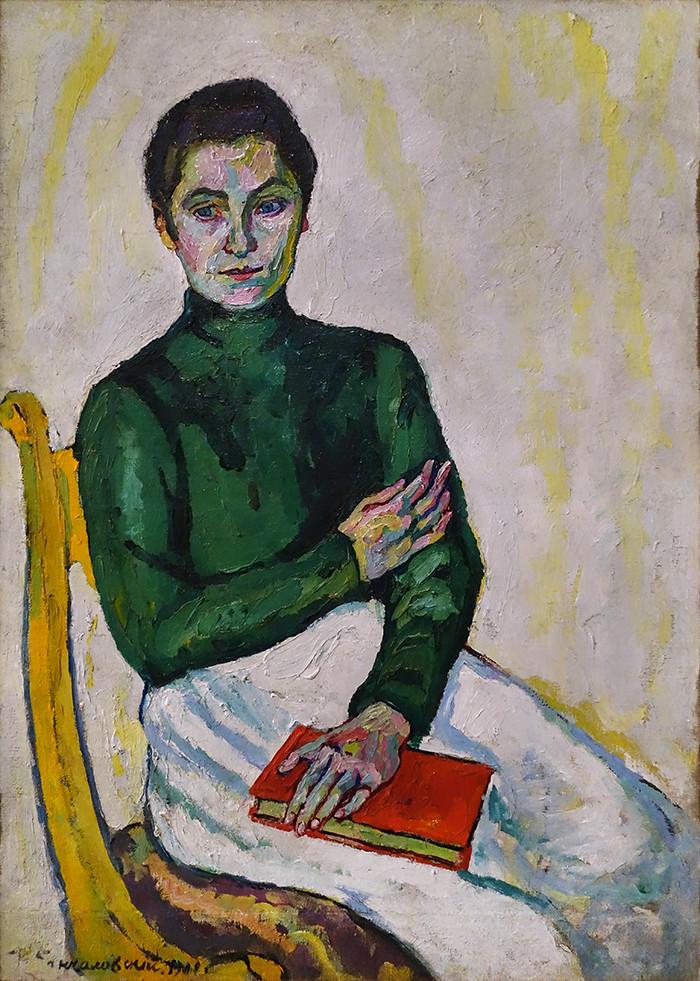 Impressionism in the Avant-garde_55_Konchalovsky
