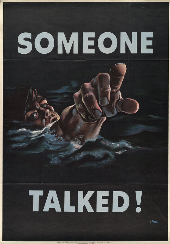 Someone talked! (1942) - Frederick Siebel (1868-1968)