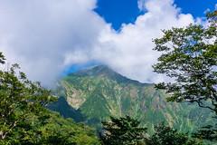 谷川岳は雲?