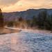 Yellowstone Park at Dawn by Gary Grossman