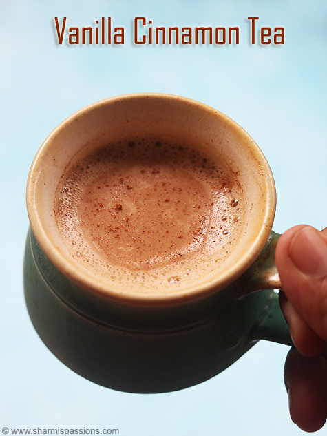 vanilla cinnamon tea recipe