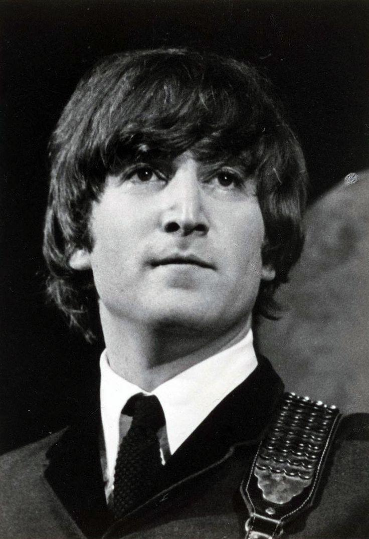 Photo of John Lennon as a member of The Beatles