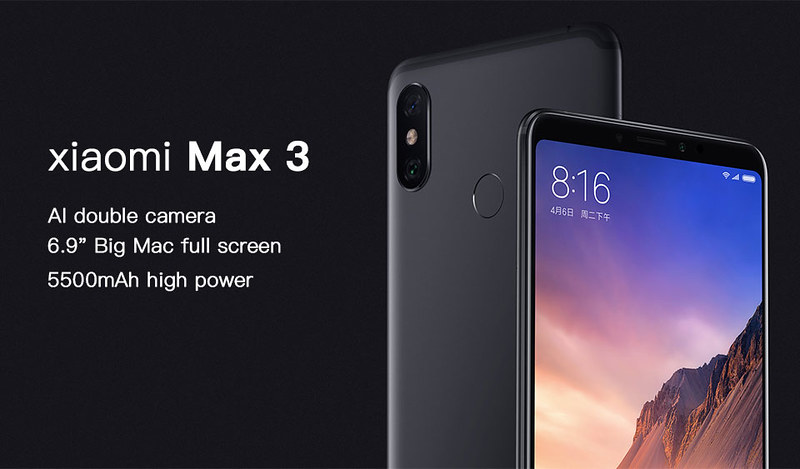 Light in the box Xiaomi Mi Max 3 (3)