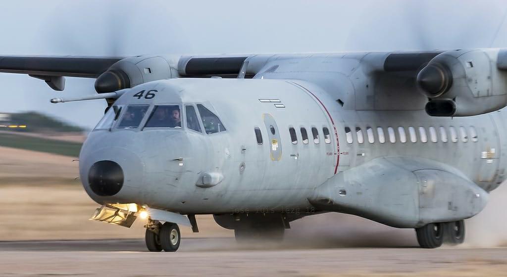 C-295 del Ala 35 en Ablitas