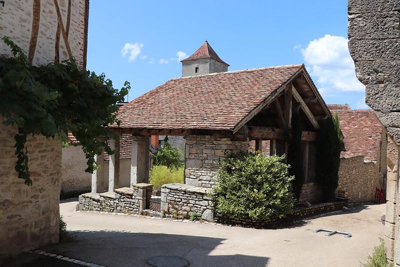 Montvalent - La halle