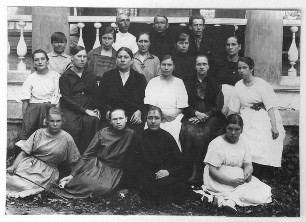 1925. Производственный актив Ивантеевской Государственной суконной фабрики