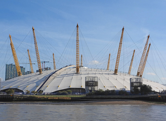 The O2 Dome, Greenwich, Nikon COOLPIX P610