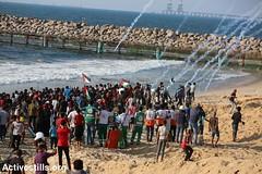 Protest against the Israeli siege over the Gaza Strip, Northern Gaza Strip, 11.9.2018