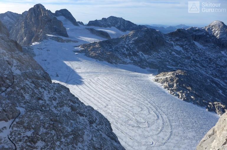 Alpské ledovce trpí nedostatkem sněhu