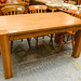 E60 solid oak table