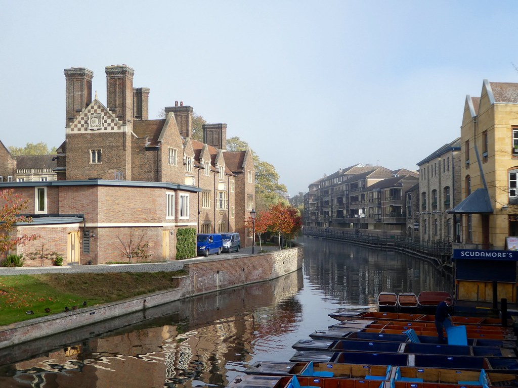 View from Magdalene Bridge, Cambridge