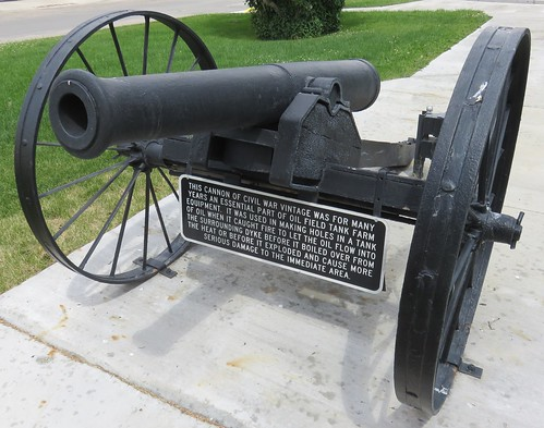 Old Civil War Cannon (Sinclair, Wyoming)