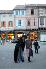 FR18 1268 Stephanie & her mother. Halloween. Mirepoix, Ariège - Photo of Limbrassac
