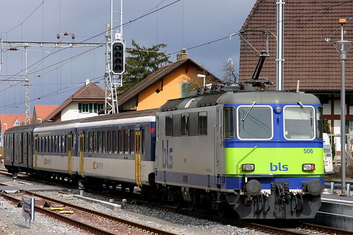 BLS Re 420 506-8 Regionalexpress, Kerzers