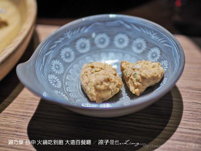 涮乃葉 台中 火鍋吃到飽 大遠百餐廳 44