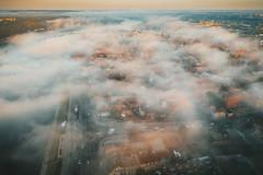 Autumn fog | Kaunas aerial | Lithuania #263/365