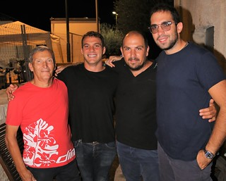Alex De Rose assieme agli Amici del Mare