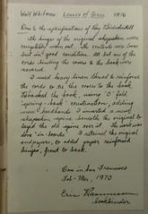 Penn Libraries PS3201 1876a: Inscription