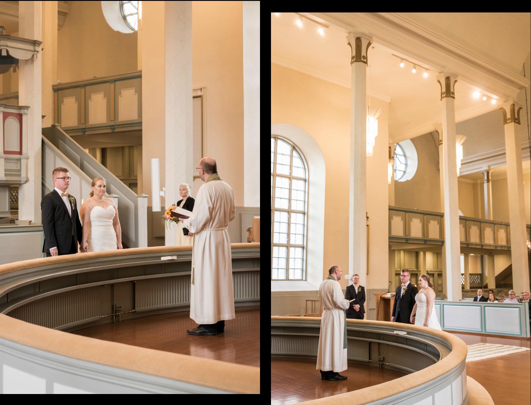 Hääkuvaus hääkuvaaaja orimattila päijät-häme vihkiminen orimattilan kirkko 1