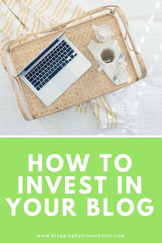 Interested in learning how to invest in your blog? I just released a new video on my YouTube channel as a part of my 15 Blogging Best Practices video series. Tonight's video gives you tips on how you can and should invest in your blog.