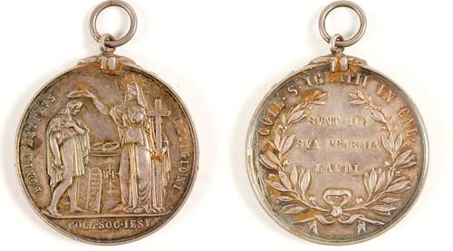 St. Ignatius In California U.S. Mint Medal
