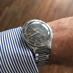 Look at what arrived this morning at the office... Rare Eberhard Scafograf 200.