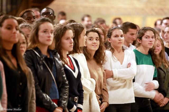 Soirée de rentrée des jeunes du #diocèse92