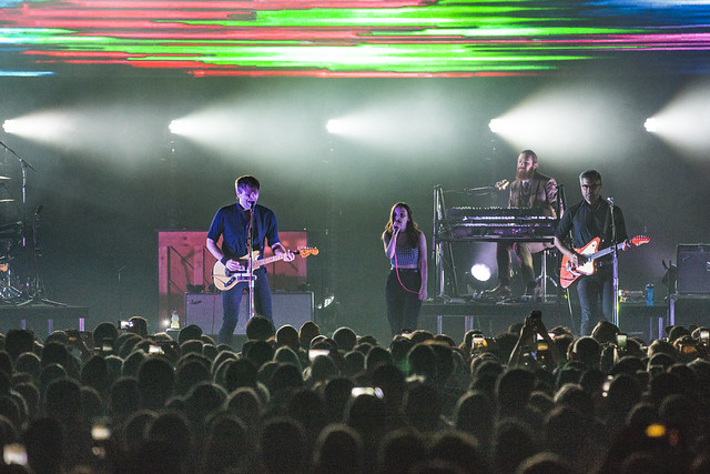Death Cab for Cutie ft. Lauren Mayberry of CHVRCHES - Northern Lights live at The Anthem (Photo by Anna Moneymaker)