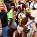 DSC_8564 Notting Hill Caribbean Carnival London Exotic Colourful Costume Girls Dancing Showgirl Performers Aug 27 2018 Stunning Ladies