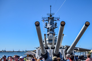 Obrázek USS Missouri.