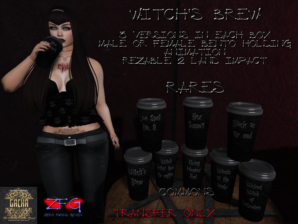 {zfg} witch's brew gacha