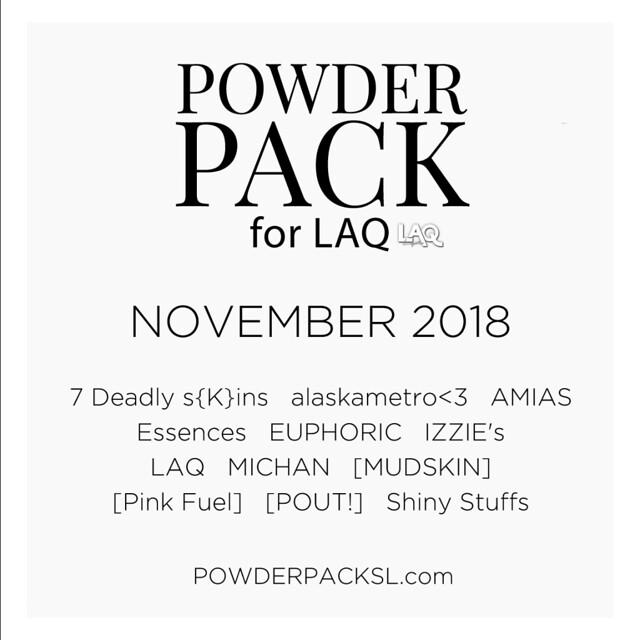Powder Pack LAQ November 2018
