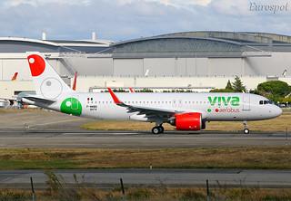 F-WWBQ Airbus A320 Viva Aerobus