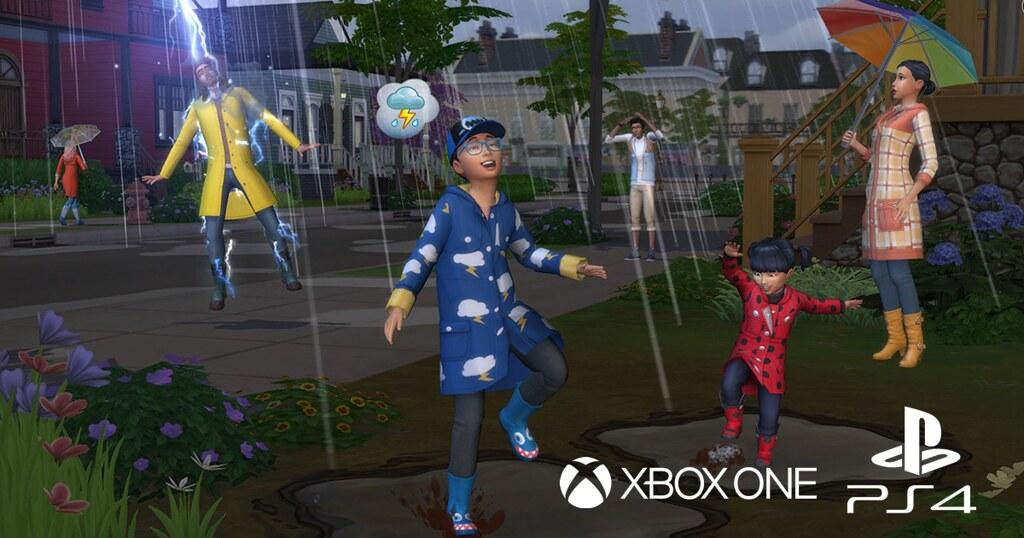Foto de The Sims 4 Estações Disponível Oficialmente para Consoles
