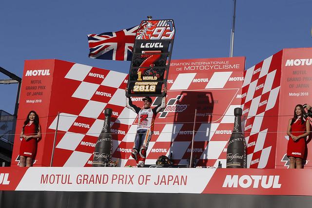 Marc Márquez. GP de Japón 2018