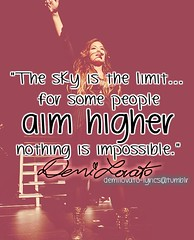 celebrity quotes : Nothing is impossible....