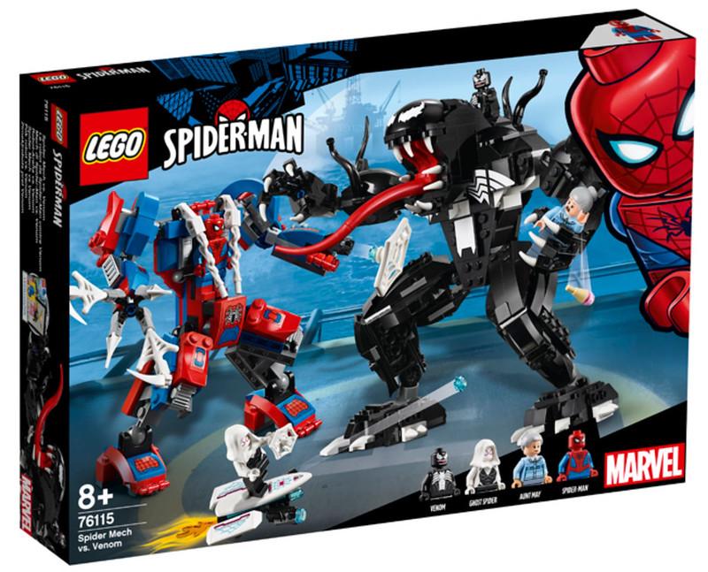 LEGO Spider Mech vs. Venom (76115)