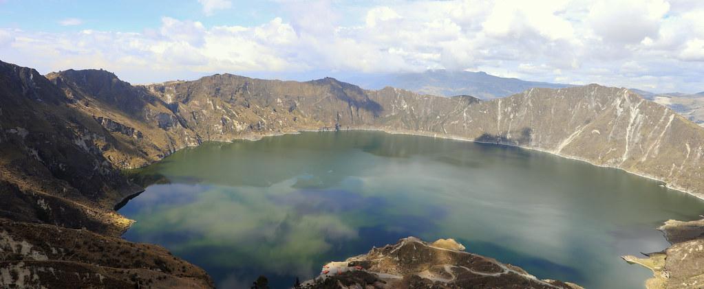 Panoramique Laguna Quilotoa