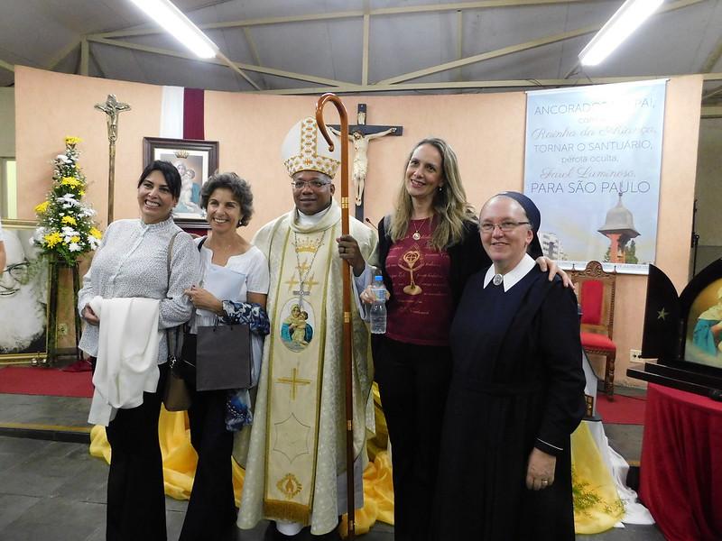 Celebração no Santuário Vila Mariana/SP