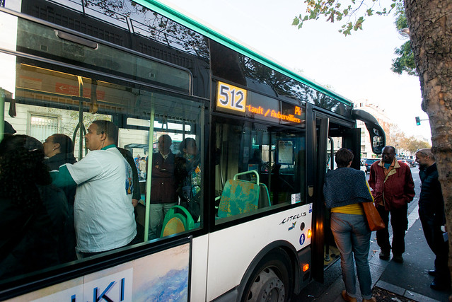 Mobilisation pour la gratuité de la navette 512