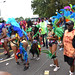 DSC_8577 Notting Hill Caribbean Carnival London Exotic Colourful Costume Girls Dancing Showgirl Performers Aug 27 2018 Stunning Ladies