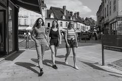 Teen Girls on the Street