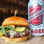 Name A Better Duo, I'll Wait......~ Every Thursday $10 @aquidneck_farms #Burger :hamburger: & @gansettbeer #Tallboy @rogueisland • • • • #burger #foodtruck #foods #foodblogger #eatfamous #foodpassion #rogueisland #foodies #foodie #eater #thrillist #burger