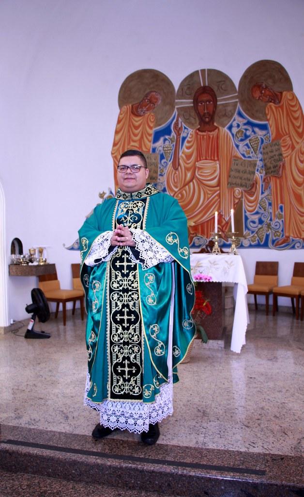 Posse de Pe. Marcelo na Paróquia São Pedro Apóstolo