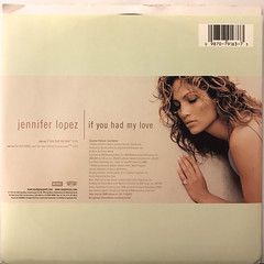 JENNIFER LOPEZ:IF YOU HAD MY LOVE(JACKET B)