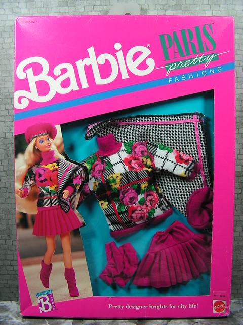 1989 Barbie Paris Pretty Fashion 6558 Assort. 762 (1)