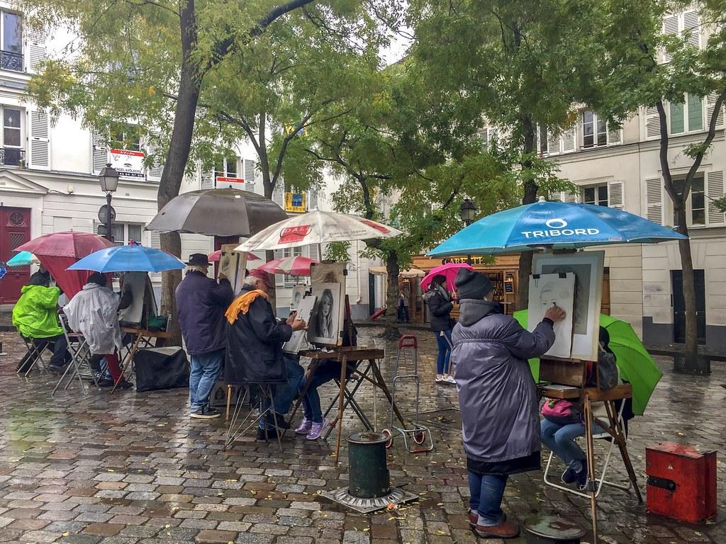Montmartre Pariisi
