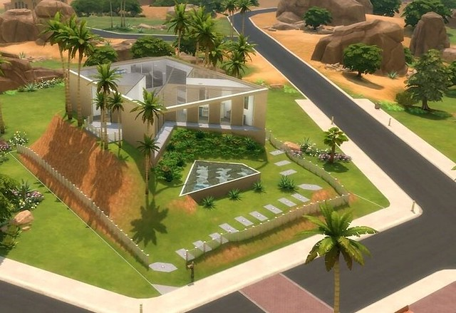 The Sims 4 Novas Imagens da Ferramenta de Terreno