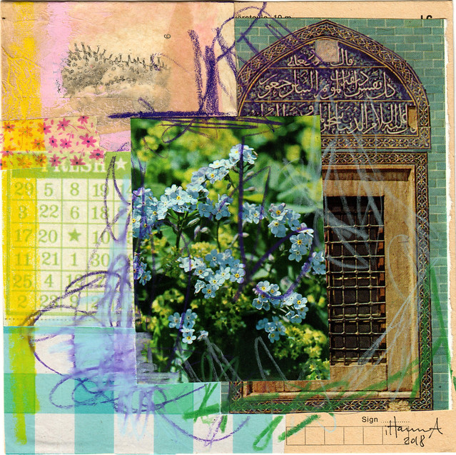 Forget Me Not - Collage no 272 by iHanna